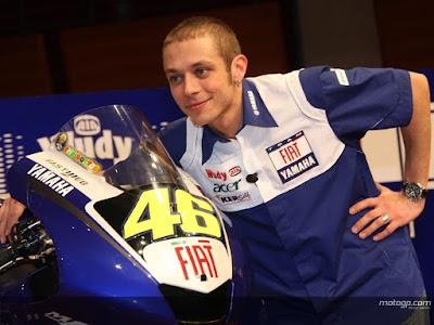Valentino Rossi, Gaya Rambut Terbaru Rossi, MotoGP, MotoGP 2017, Grand Prix, Yamaha, Italy, The Doctor,