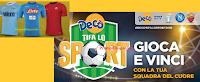 Logo #DecòTifaLoSport2018 : vinci 27 coppie di biglietti per partite di Roma, Lazio, Napoli