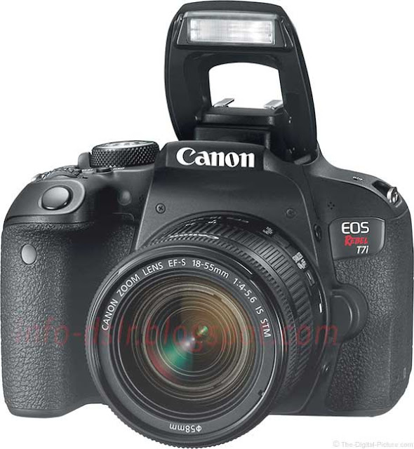 Spesifikasi dan Harga Terbaru Canon EOS Rebel T7i / Canon EOS 800D 2017