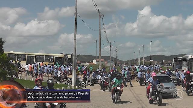 Após pedido de recuperação judicial, a Paquetá de Ipirá inicia demissões de trabalhadores