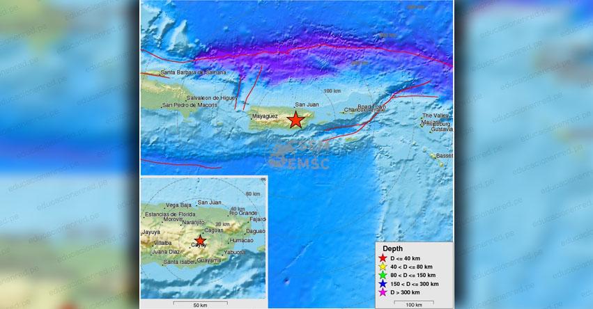 FUERTE SISMO en Puerto Rico de Magnitud 3.0 (Hoy Martes 14 Agosto 2018) Terremoto Temblor Epicentro - Caguas - Cidra - San Juan - www.redsismica.uprm.edu