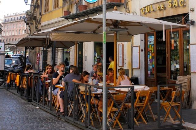 Bares em Roma - Cul de Sac Wine Bar