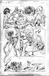 art of, alan davis, marvel, dc comics, x-men, jla, excalibur