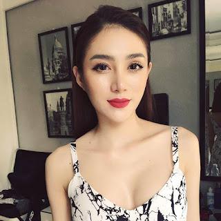 Gái xinh facebook Lê Hà the face