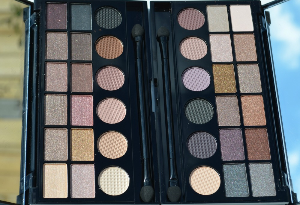 Makeup Revolution Salvation Palette What You Waiting For and Girls On Film