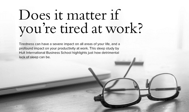 Does It Matter If You're Tired At Work?
