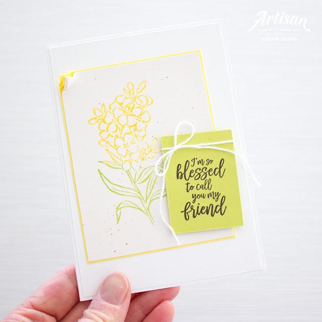 Southern Serenade by Stampin' Up! card - Susan Wong