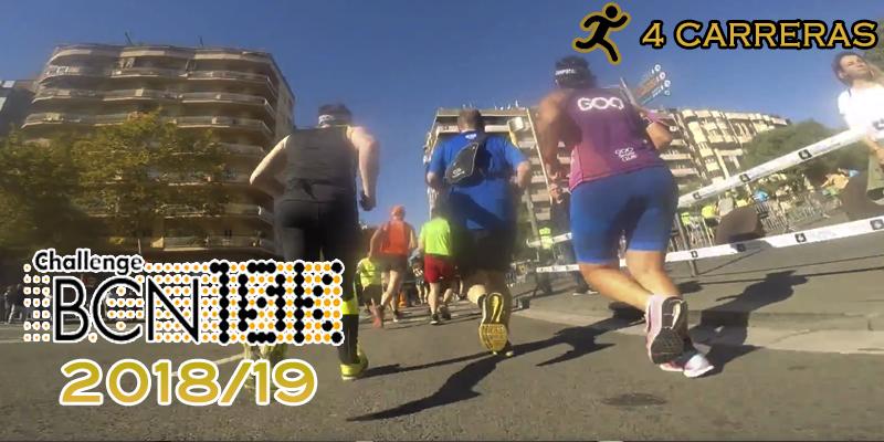 ChallengeBCN10K 2018/19 - 4 carreras