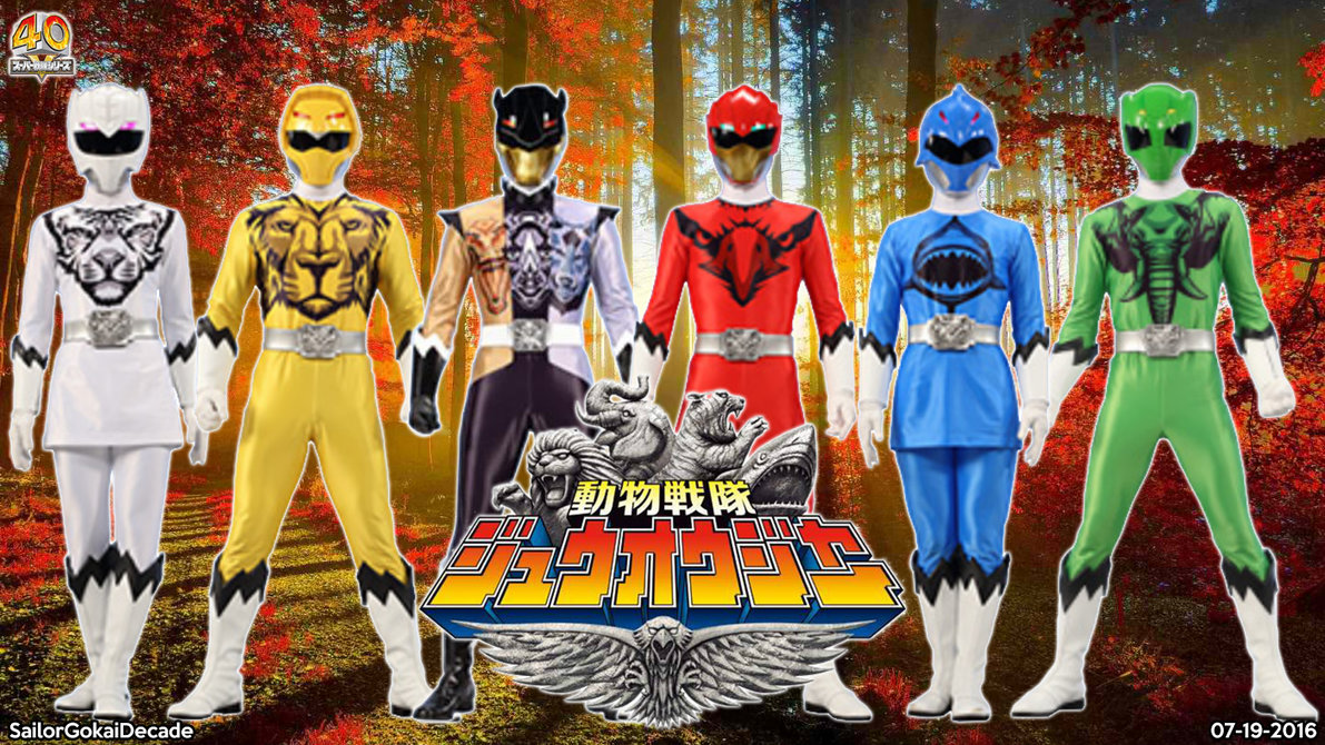 Tokufanatic: Doubutsu Sentai Zyuohger eng sub(completed)