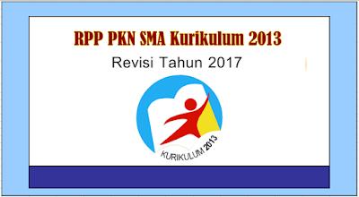 RPP PKN SMA Kurikulum 2013 Revisi Tahun 2017