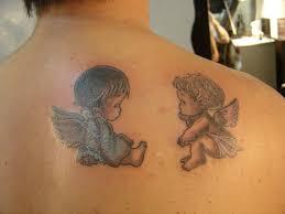 Tatuajes De ángeles Bebes Para Mujer Tu Tatuaje
