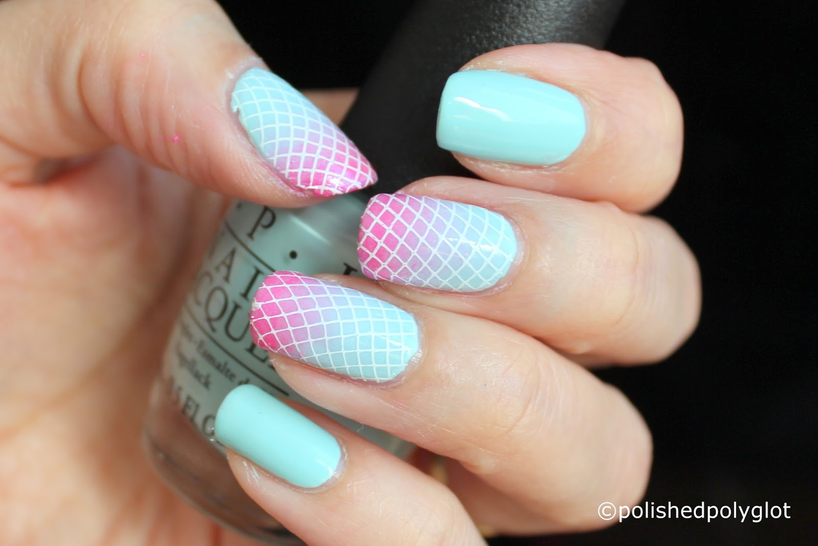 Nail Art Pastel Bold Nails For Spring 26gnai Polished Polyglot