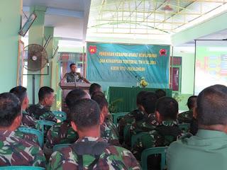 176 Perwira Ikuti Pemantapan Kowil Untuk Lebih Memahami Tanggungg Jawab Teritorial