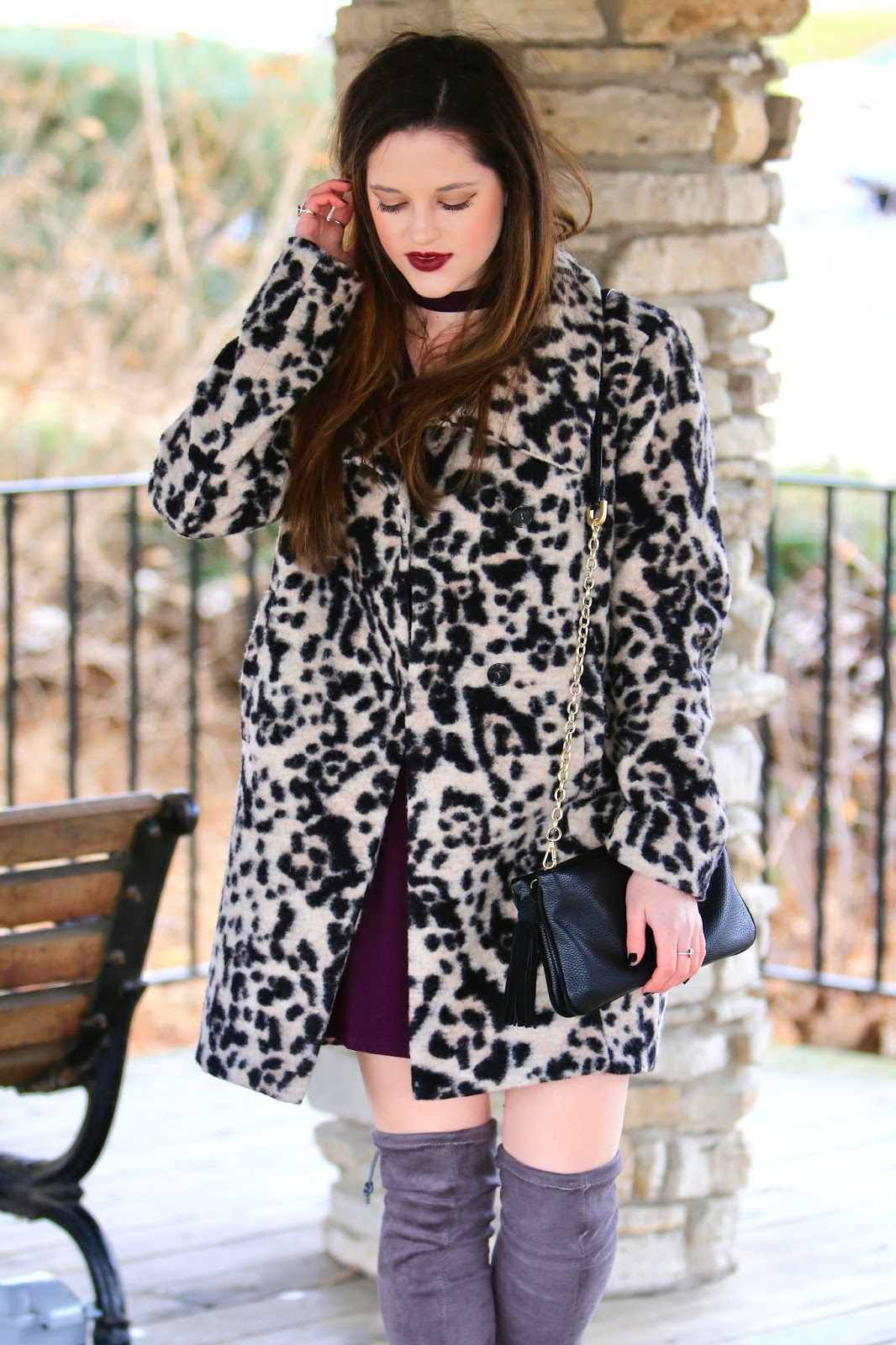 fashion blogger winter street style