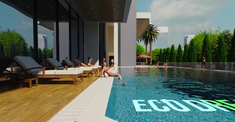 Bể bơi dự án Eco Dream