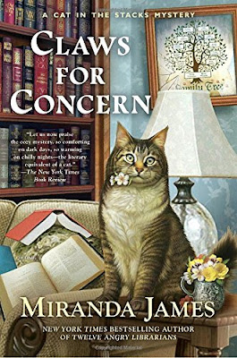 Claws for Concern, by Miranda James