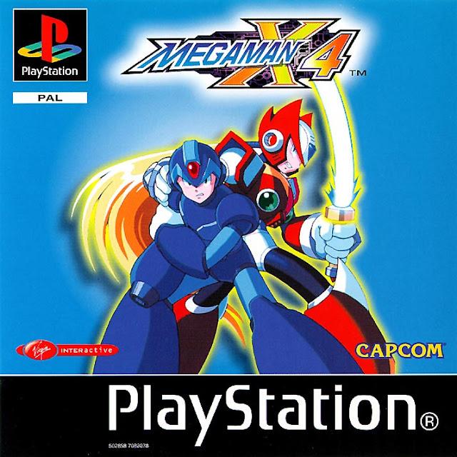 Mega Man X4 - PSX - Portada