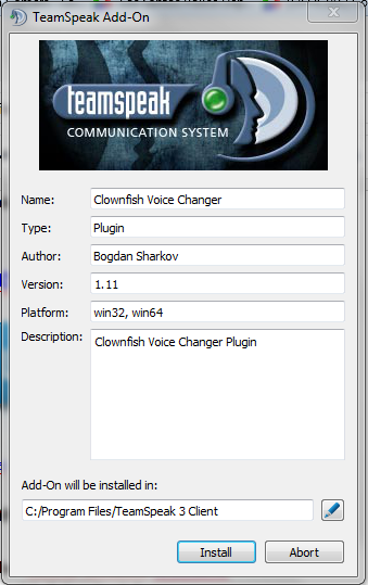 Download Clownfish Plugin For Teamspeak 3 Client - russoftmore
