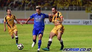 Persib Bandung vs Mitra Kukar 3-1 Liga 1 Jumat 27 Oktober 2017.