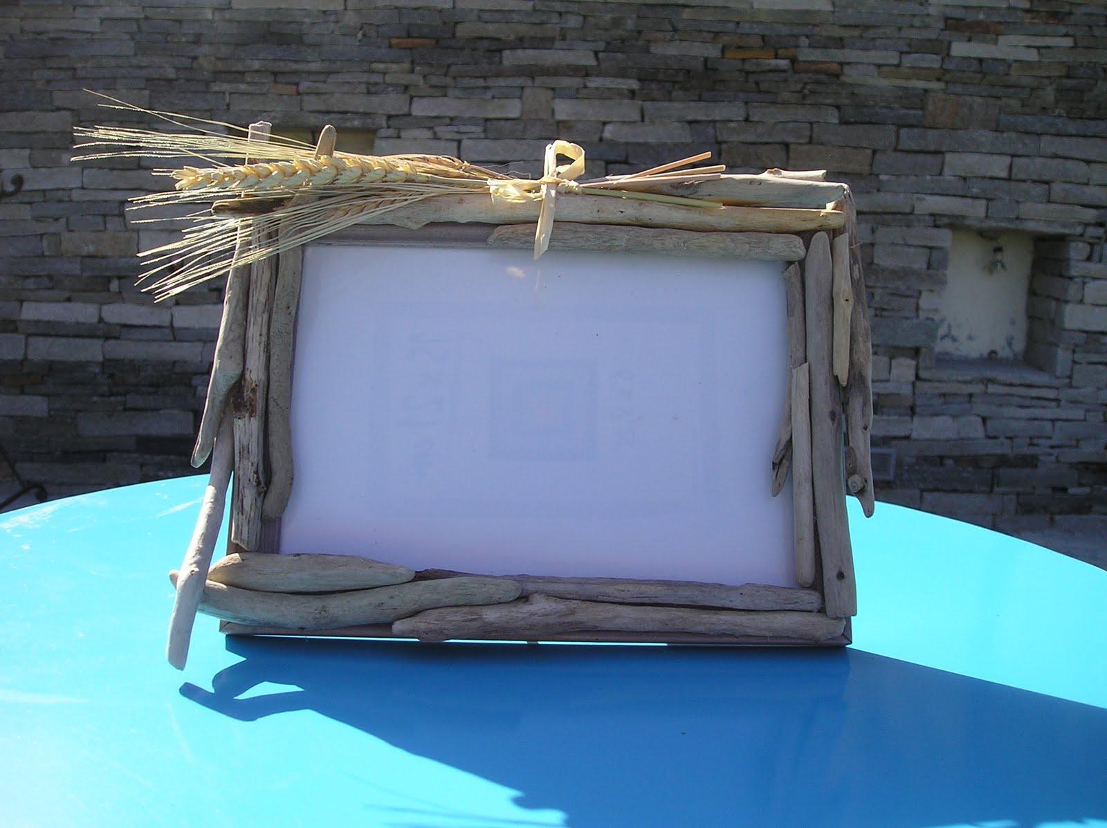 art d co bois flott cr ation de cadres photos en bois flott. Black Bedroom Furniture Sets. Home Design Ideas
