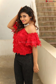 Priya Augustin in Red Top cute beauty hq .xyz Exclusive Pics 010