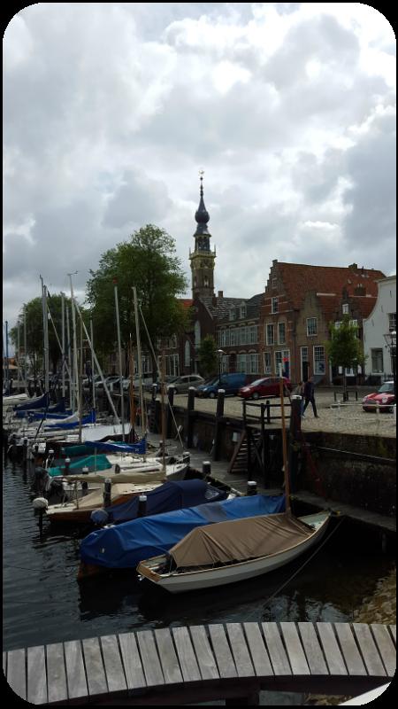 Der kleine Hafen von Veere, Provinz Zeeland, Holland (Niederlande) | Arthurs Tochter Kocht von Astrid Paul