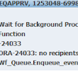EBS R12 -- REQAPPRV ORA-24033 error after 12C DB upgrade /rulesets & queues