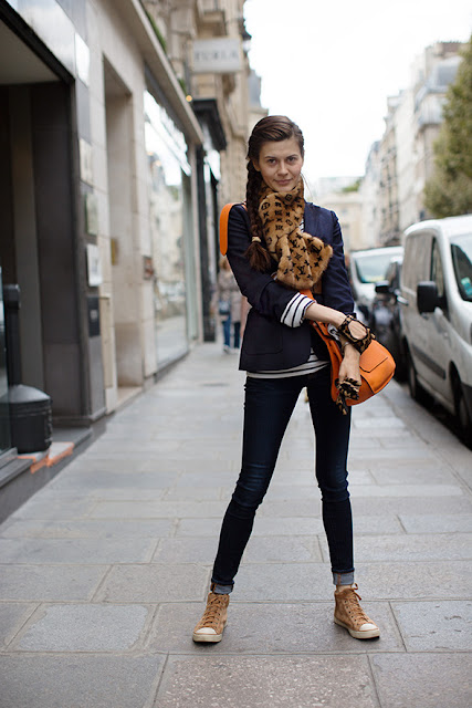 Street style inspiration from The Sartorialist
