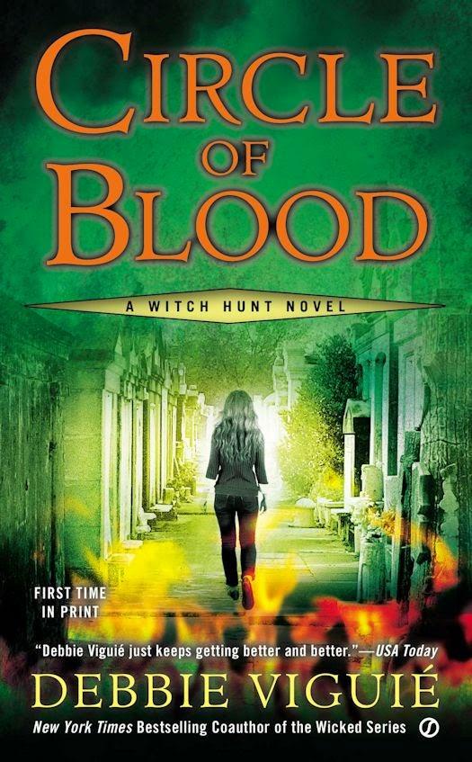 Review: Circle of Blood by Debbie Viguié