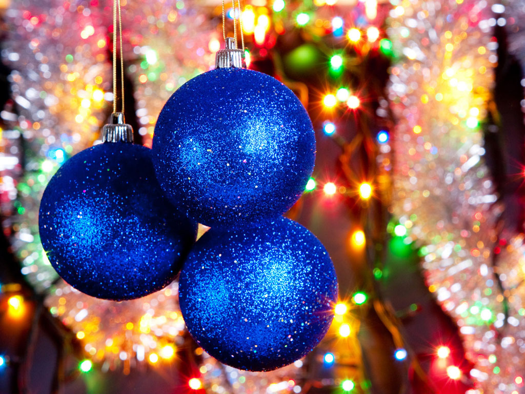 Wallpapers: Christmas New Year Decorations