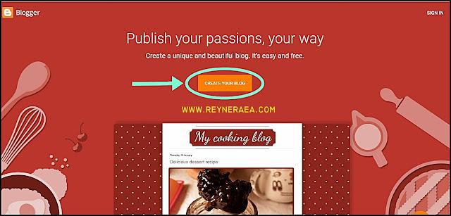 cara mudah bikin blog