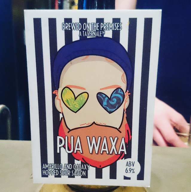 Northumberland Craft Beer Review: Pua Waxa from the Bridge Tavern Newcastle real ale pumpclip