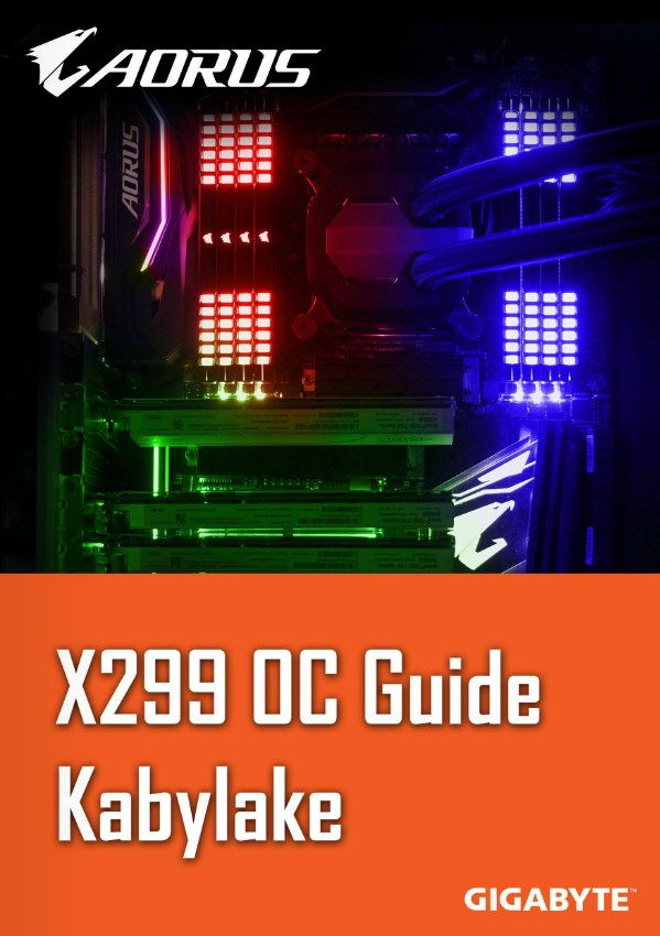 x299%2Bkabby%2BOC%2Bguidebb X299 OC(overclocking) guide for Kabylake CPUs! Technology