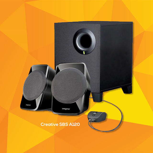 best budget desktop speakers philippines - creative sbs a120