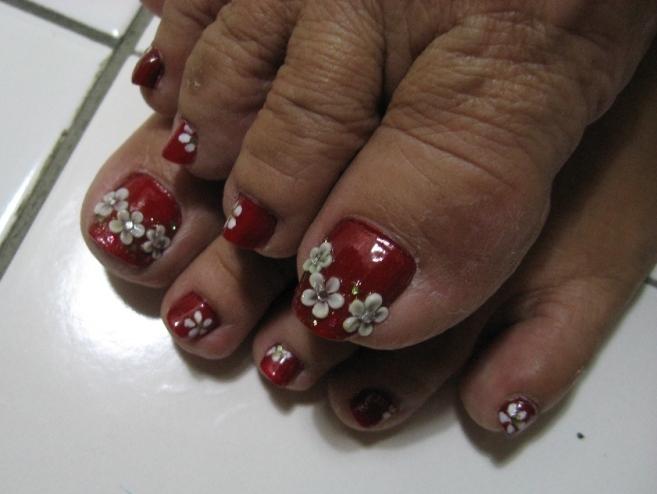 New Years Toe Nail Art Big Toe Nail Art Design Catherine U0027s