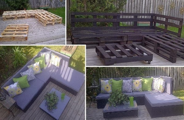 Recycled Wood Pallets For Interior Designs 4