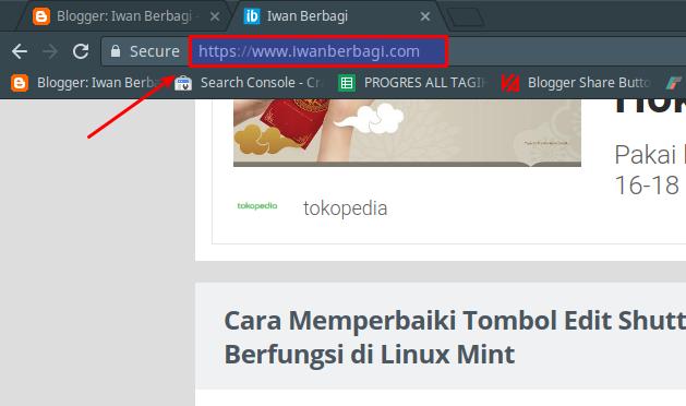 Mengaktifkan HTTPS Blogger Pada Custom Domain Blogger