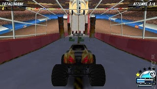 Download Monster Jam - Urban Assault (Europe) Game PSP for Android - www.pollogames.com