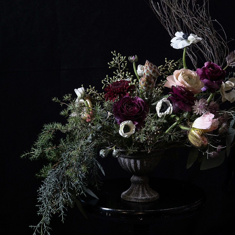 Flower workshop, kreettakreetta, kreetta järvenpää, Visualaddict, valokuvaaja, Frida Steiner, flower arrangement, kukka-asetelma, runsas, kukat, flowers, valokuvaus, Risto Ryti -talo