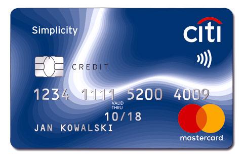 Karta Kredytowa City Simplycity Bank City Handlowy