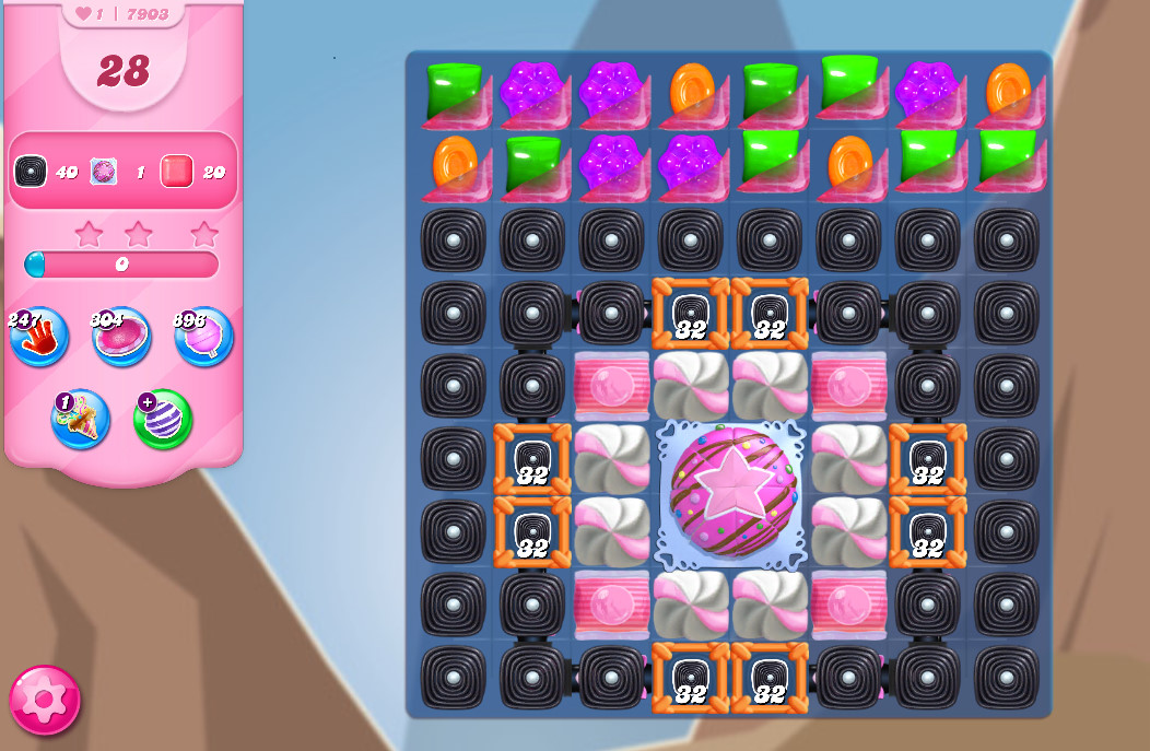 Candy Crush Saga level 7903