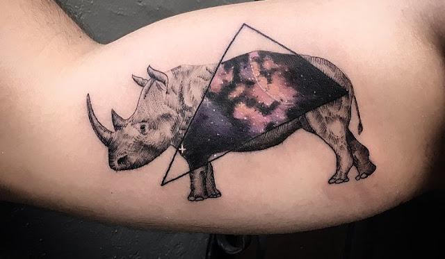 Tatuagem rinoceronte