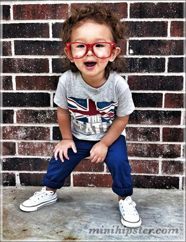 Free Fashion: Funny Hipster Clothing for Kids