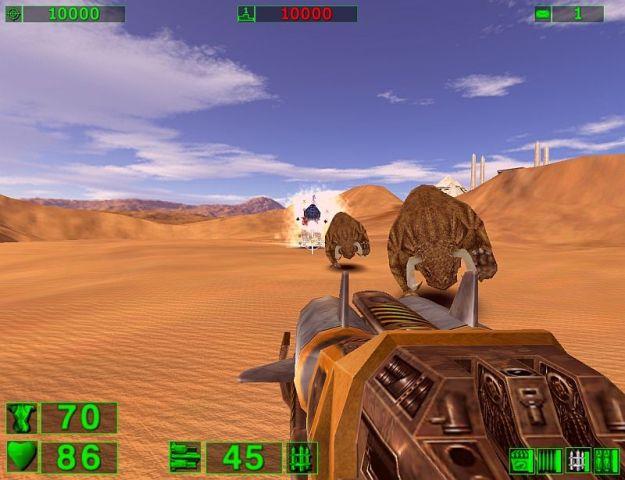 Serious Sam 1 PC Games Gameplay