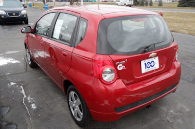 Pick of the Week - 2011 Chevrolet Aveo 1LT