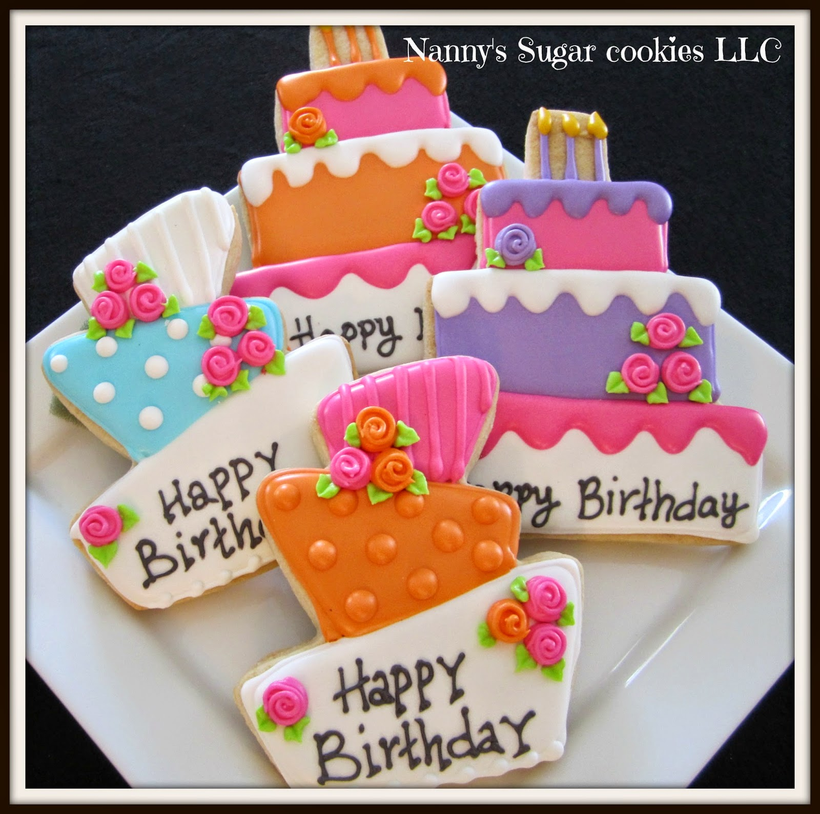 Nanny's Sugar Cookies LLC: Happy Birthday To You