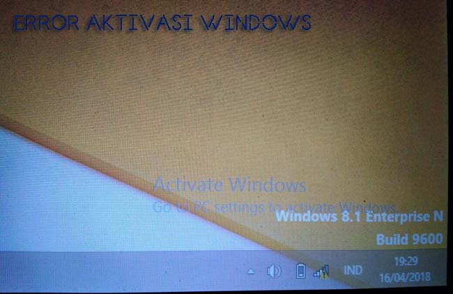 mengatasi windows activate