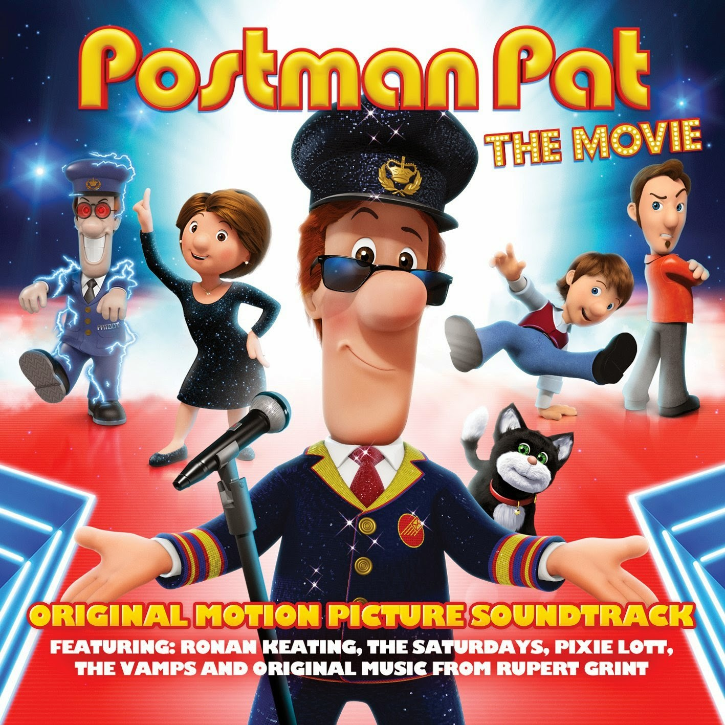 Fireman Sam 3d Wallpaper The Official Soundtrack To Postman Pat The Movie Is