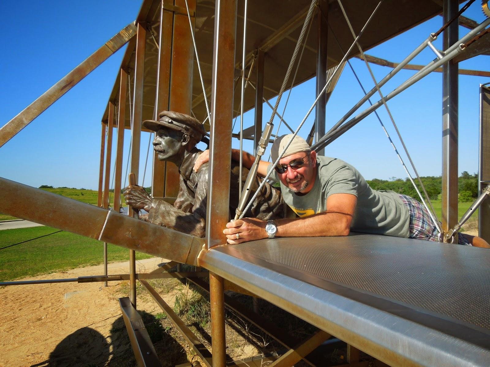 Ron on glider