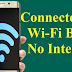 What To Do When WiFi If Connected Without Access To The Internet